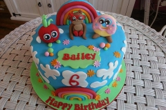 Moshi Monsters Birthday Cake
