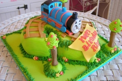Thomas Tank Engine Birthday Cake 2