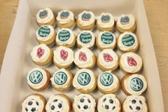 VW Cup cakes