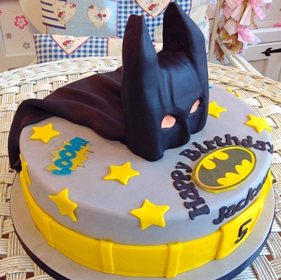 Batman Boys Birthday Cake
