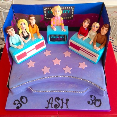 Celebrity Juice Mens Birthday Cake