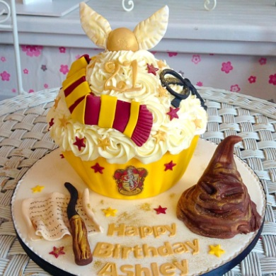 Harry Potter Giant Cup Cake