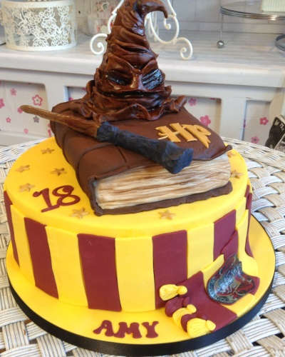 Harry Potter Ladies Birthday Cake