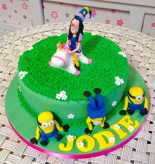 Minions Girls Birthday Cake