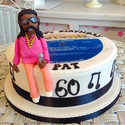 Motown Mens Birthday Cake