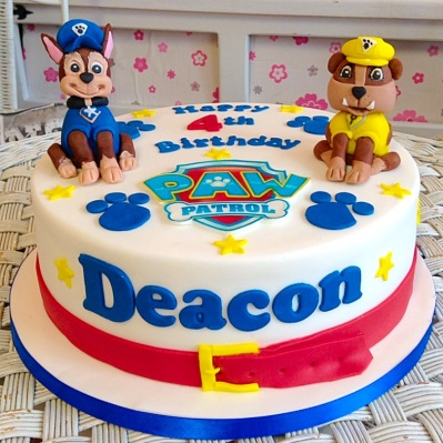 Paw Patrol Boys Birthday Cake