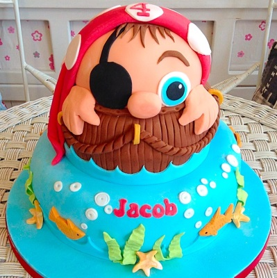 Pirate Boys Birthday Cake
