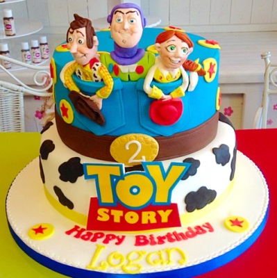 Toy Story Boys Birthday Cake